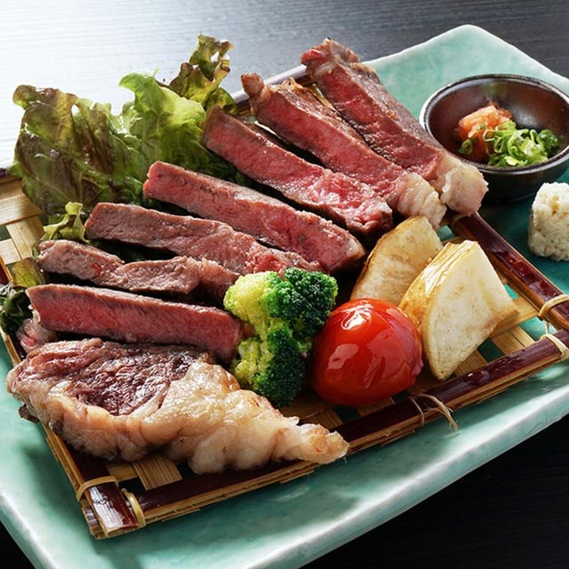 Tokachi Hitomai charcoal grilled roast beef(240g)