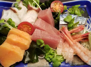 Assorted sashimi of 5 kinds of fish