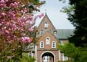 Cherry blossoms at Trappist Monastery